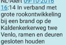 Mijn eerste noodwaarschuwing van NL-Alert.